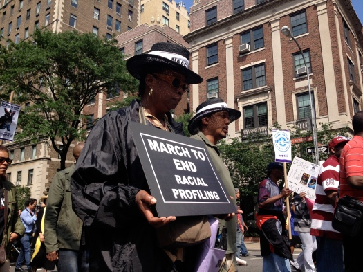 Silent_march_to_end_stop_and_frisk_and_racial_profiling